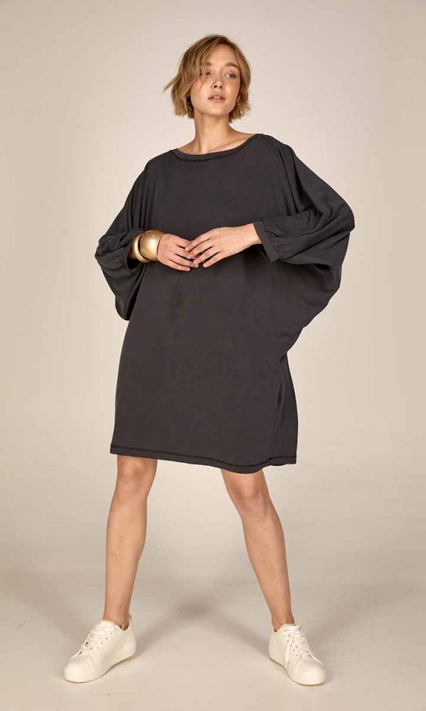 Oversized dress S21-21719 - Dolce Domenica